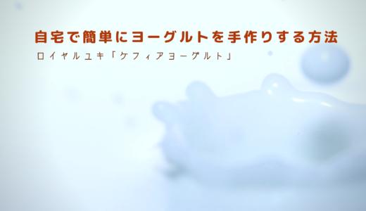 【料理苦手な主婦でも失敗なし】自宅で簡単にヨーグルトを手作りする方法