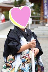 七五三神社のカメラマン