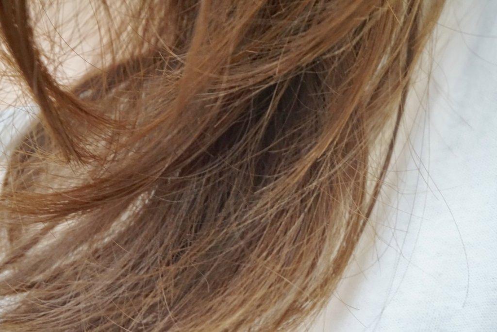 オルナ オーガニックヘアオイル 量が少ない毛質